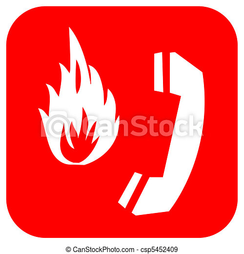 Fire alarm  - csp5452409