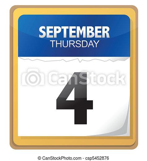 calendar - csp5452876