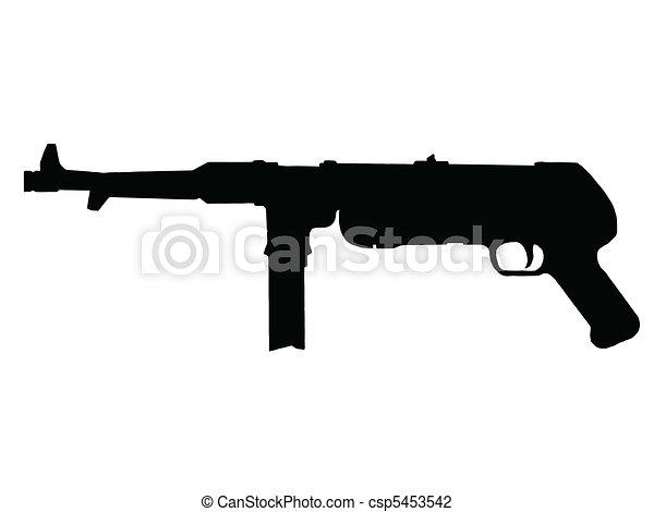machine gun vector clip art illustrations. 4,810 machine gun