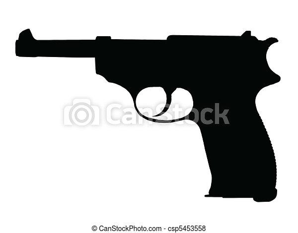 WW2 - Pistol - csp5453558
