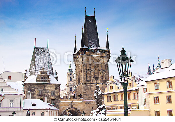 Charles Bridge, Prague - csp5454464