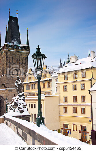 Charles Bridge, Prague - csp5454465