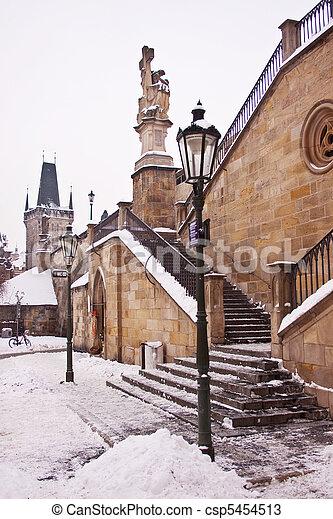 Charles Bridge, Prague - csp5454513