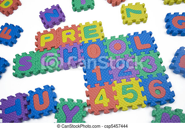 Preschool and Numbers - csp5457444