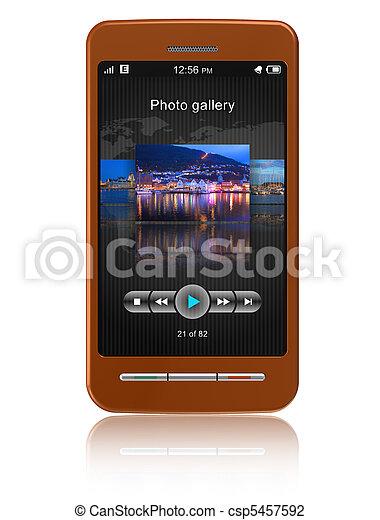 Touchscreen smartphone - csp5457592