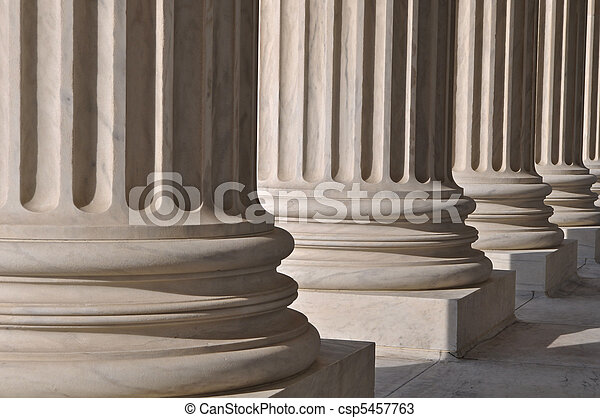 Pillars of Law and Information at the United States Supreme Court - csp5457763