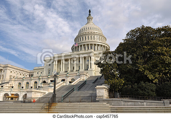 Washington DC Capitol Hill Building - csp5457765
