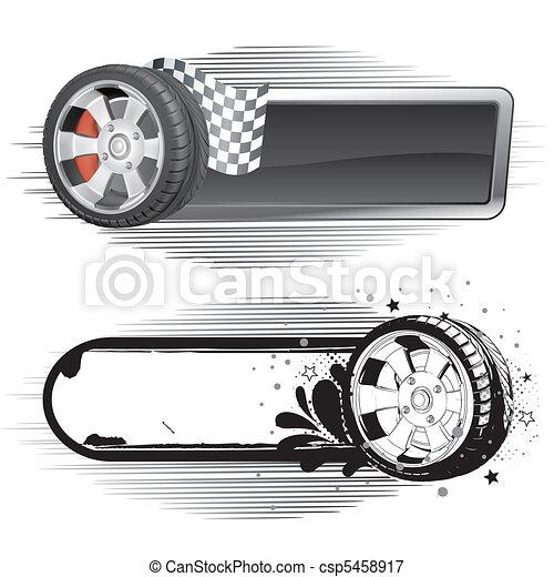 automobile race element - csp5458917