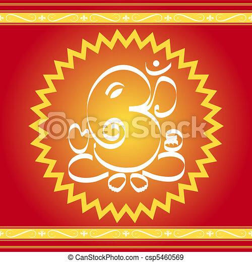 God Ganesha - csp5460569