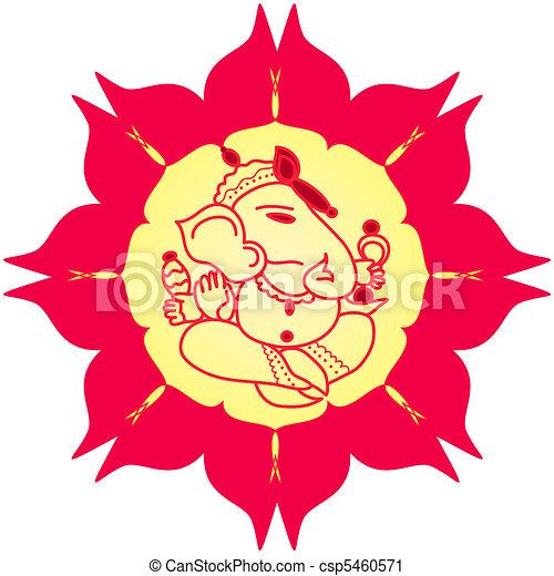 God Ganesha - csp5460571