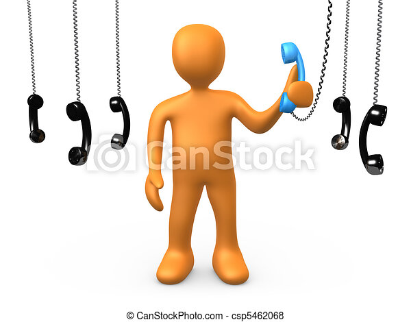 The most important phonecall - csp5462068