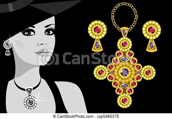 advertising jewelry - csp5465378