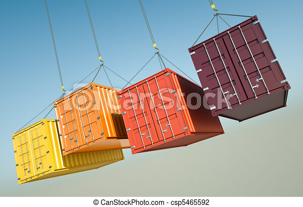 Shipping Containers - csp5465592