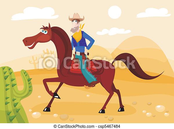 cowboy - csp5467484