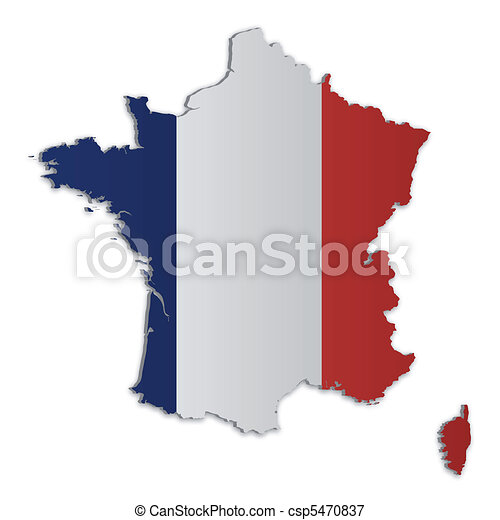 France Map_2 - csp5470837