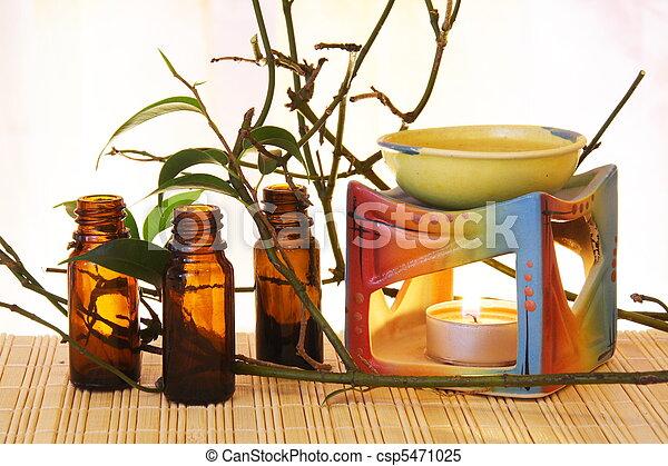 Aroma Oil Burner Still Life - csp5471025