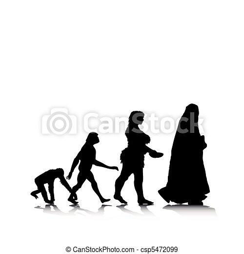 Human Evolution 11 - csp5472099