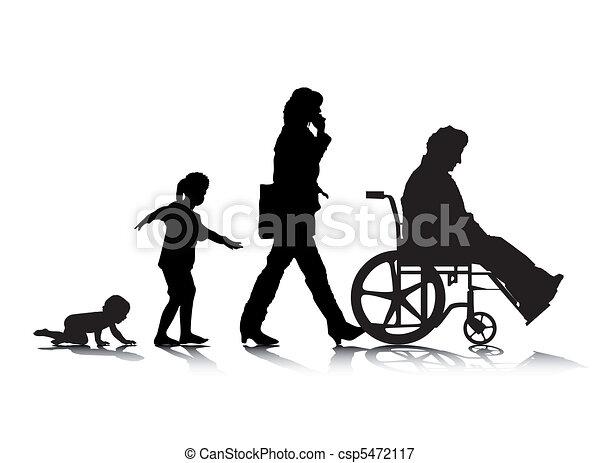 Human Aging 4 - csp5472117