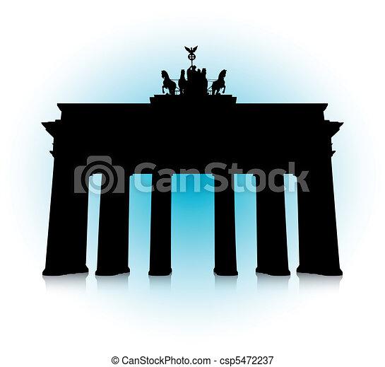 The Brandenburg Gate - csp5472237