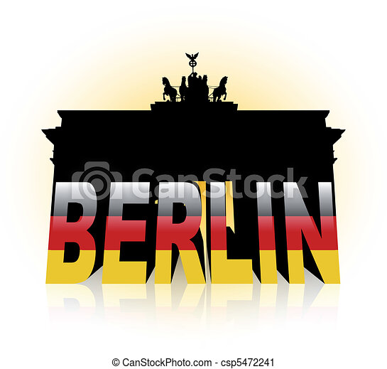 The Brandenburg Gate in Germany - csp5472241