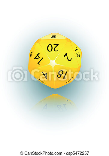 20-sided Die - csp5472257