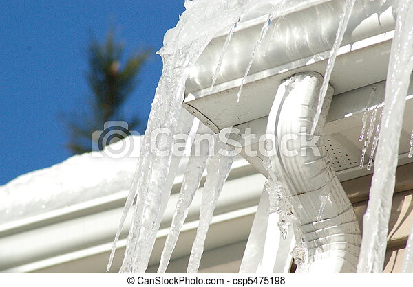 Ice Dams - csp5475198