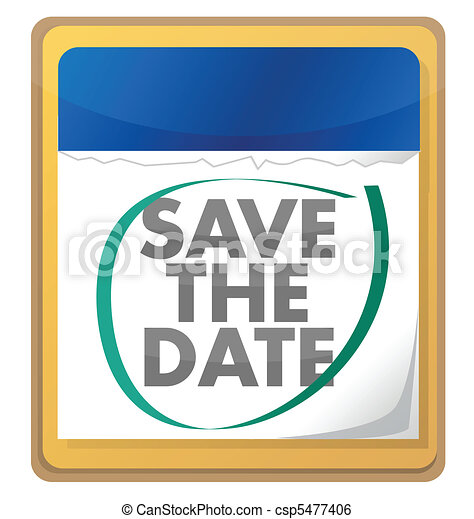 save the date  - csp5477406