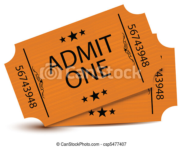 Set of tickets - csp5477407