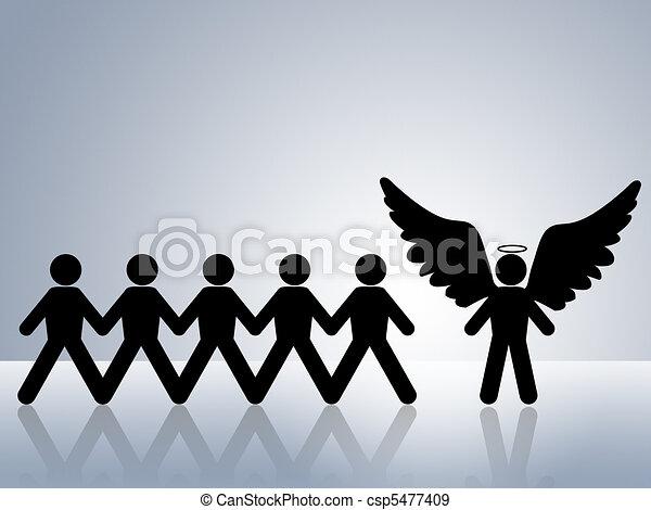 guardian angel  - csp5477409