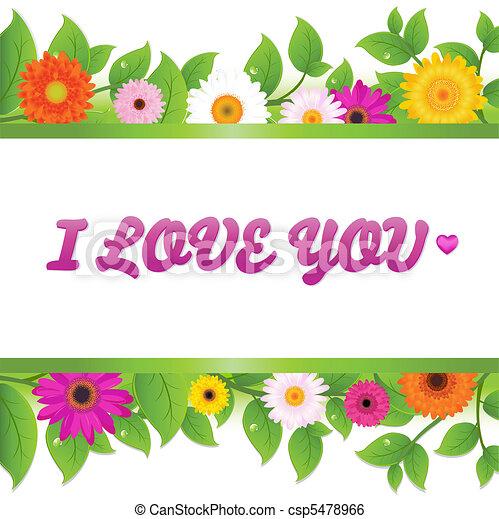 Valentines Day Card - csp5478966