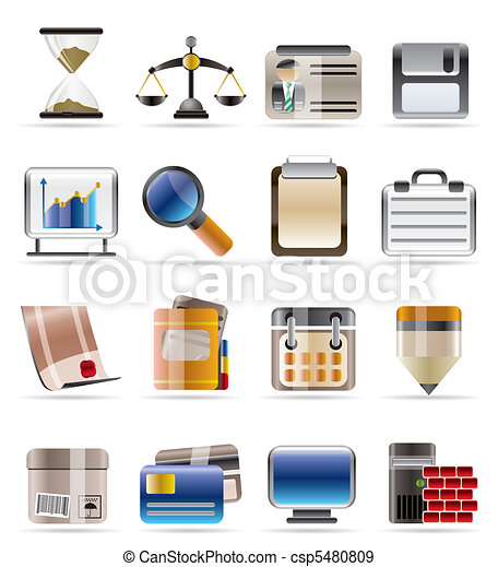Realistic Business and office  - csp5480809