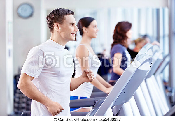 The fitness club - csp5480937