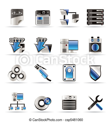 Server Side Computer icons - csp5481060