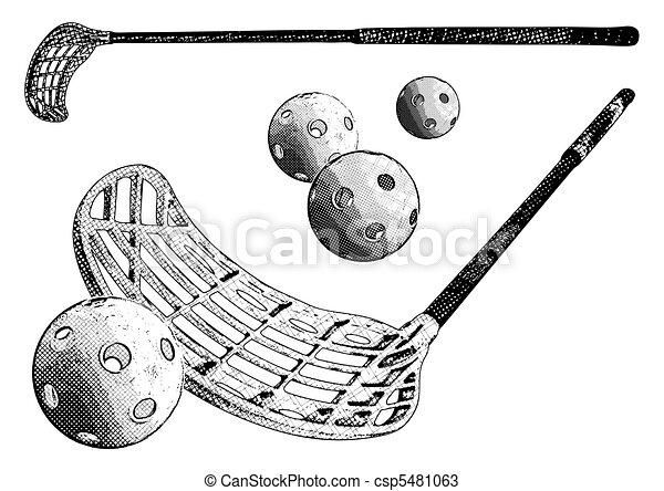 floorball equipment - csp5481063
