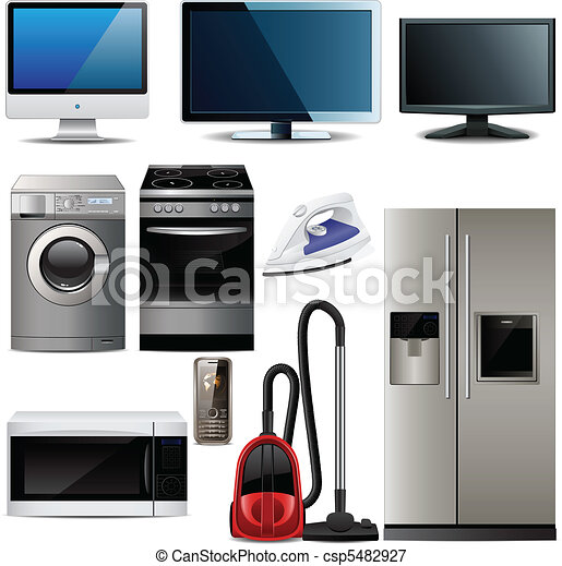 Household electronic elements  - csp5482927