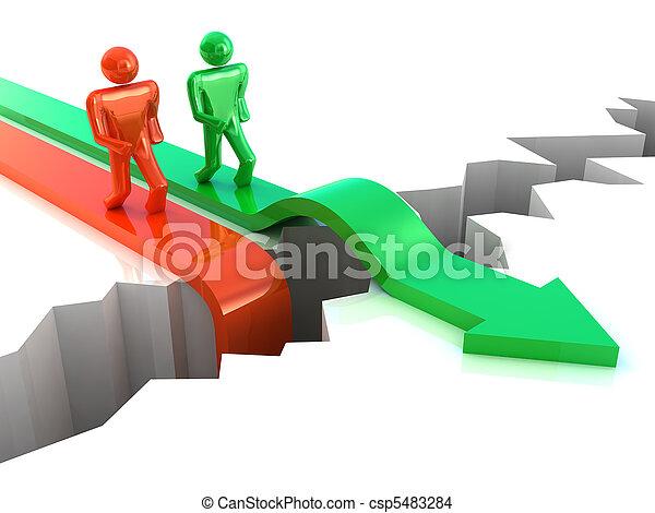 Business Success. Competition  concept - csp5483284
