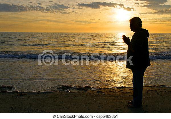 Moment of Prayer - csp5483851