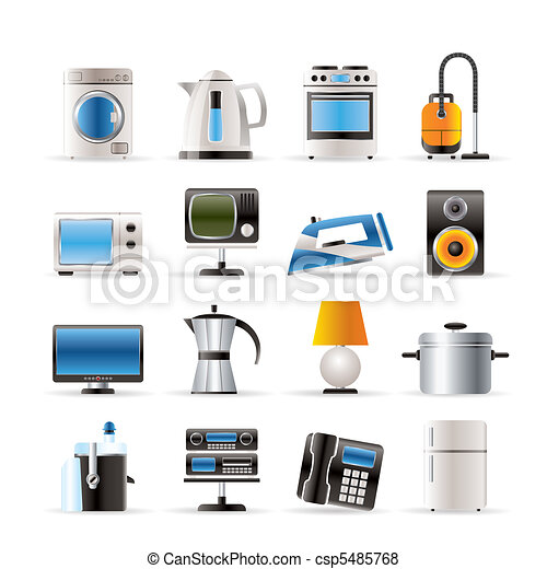 home equipment icons  - csp5485768