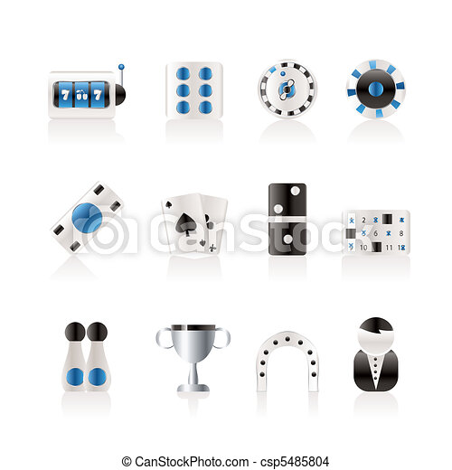 gambling and casino Icon - csp5485804