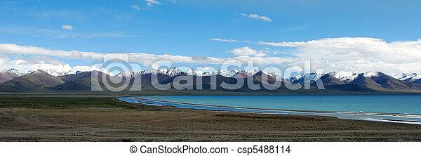 Nam Tso Lake - csp5488114