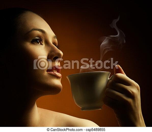 aromatic coffee - csp5489855