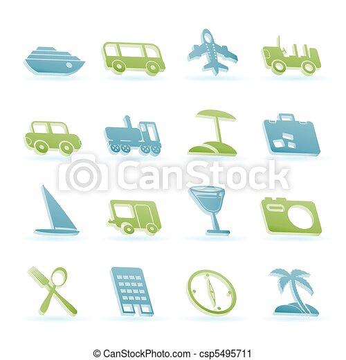 Travel, transportation, tourism  - csp5495711
