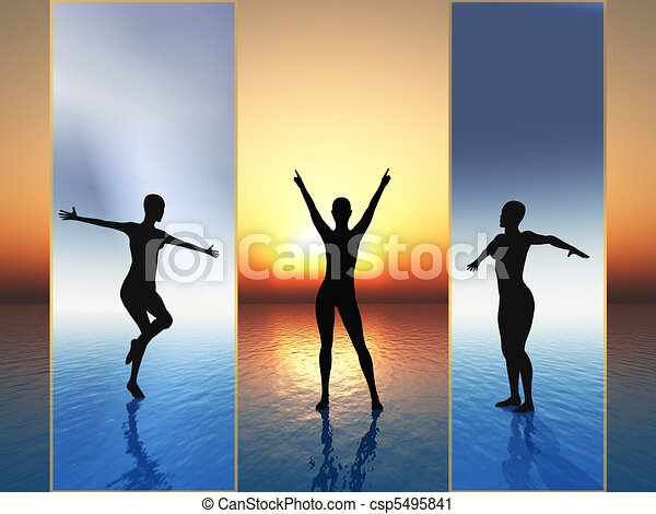 Enthusiasm, excitement. freedom - csp5495841