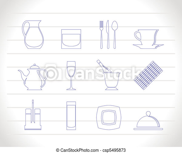 restaurant, cafe, bar, night clubs - csp5495873