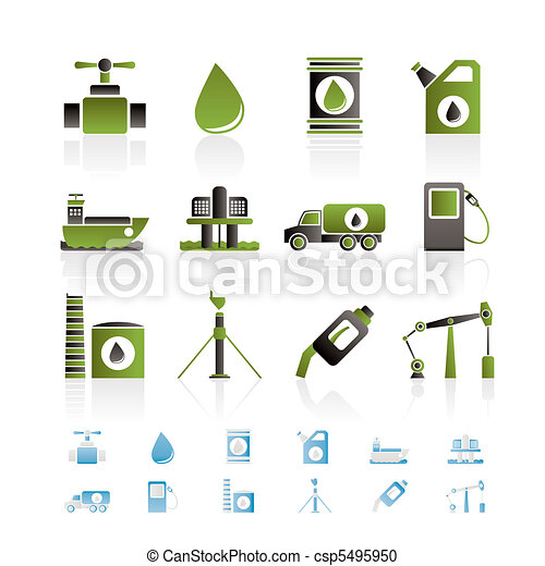 oil and petrol industry objects - csp5495950