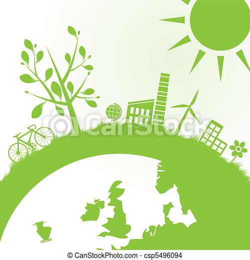 ecology and power background - csp5496094