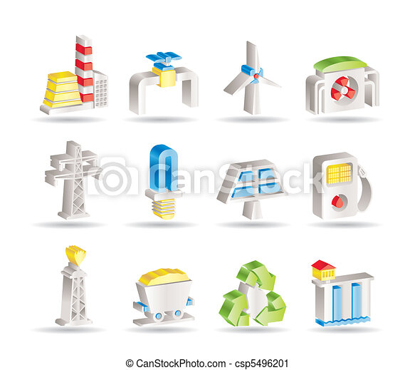 Power and electricity industry - csp5496201