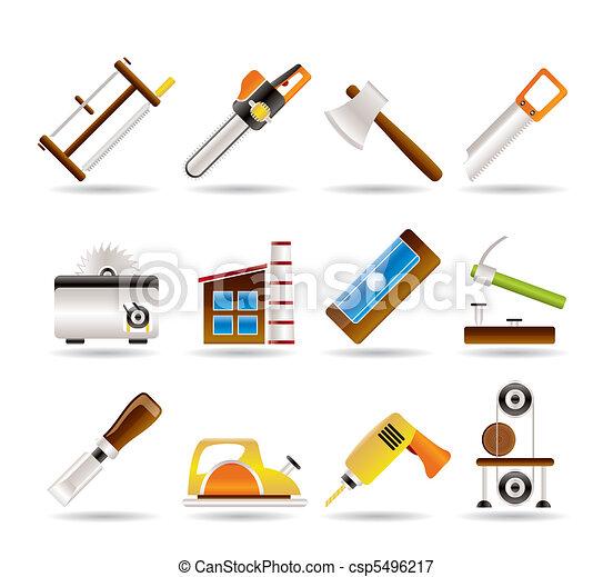 Woodworking industry - csp5496217