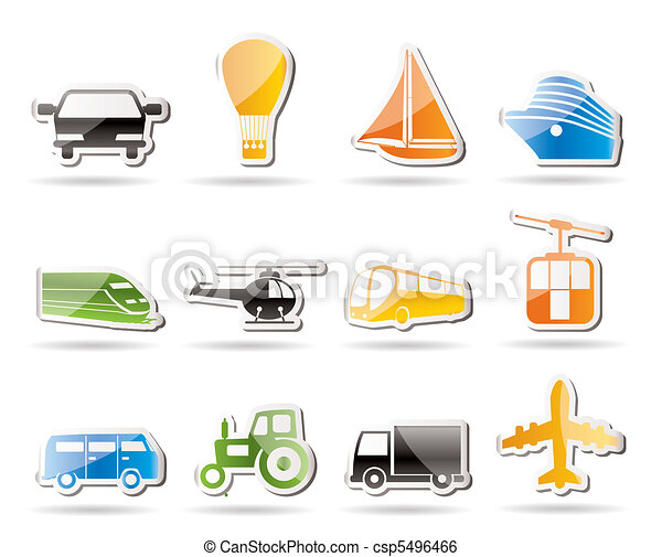 Simple Transportation and travel  - csp5496466