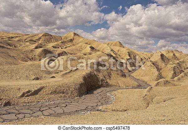 Muddy volcanoes - csp5497478